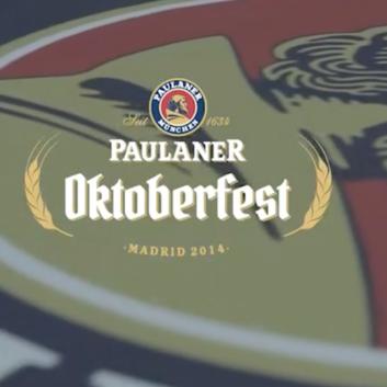 Paulaner Oktoberfest  Madrid 2014